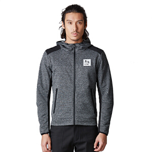 AIRTEX亚特户外男士运动连帽跑步健身休闲衣防风保暖外套