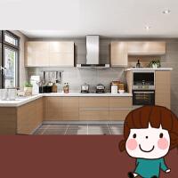 整体橱柜定做 全屋定制 现代简约整体厨房橱柜 特权定金