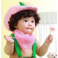 儿童假发儿童摄影假发宝宝假发热卖假发 儿童小卷发 宝宝拍照卷发