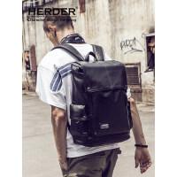 HERDER/赫登尔双肩包男韩版电脑包休闲包包旅行背包运动学生书包