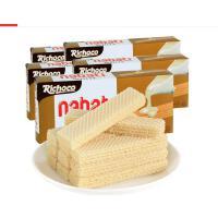【当当海外购】印度尼西亚进口 Richoco丽巧克纳宝帝巧克力味威化饼干145g*3盒
