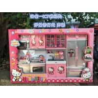 朵拉过家家儿童玩具HelloKitty女孩做饭厨房冰雪公主礼物宝宝厨具 KT猫 经典