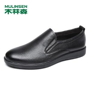 木林森男鞋 2018春夏新款商务休闲鞋 05187102