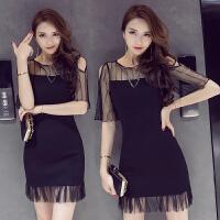 连衣裙女装新款夏天衣服装唯品会特价夏季女人味气质性感裙子