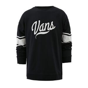 Vans范斯女装 运动休闲套头卫衣  VN0A2YVSBLK