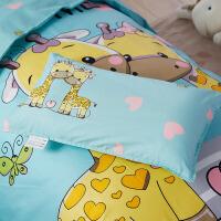 儿童枕套纯棉卡通可爱小猪佩奇宝宝男孩女40x60全棉30*50小枕头套