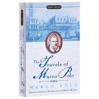 现货 马可波罗游记 内附路线图 历史记录 英文原版 Travels of Marco Polo 英文版经典名著小说 东方