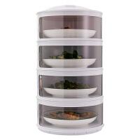 厨房置物架剩菜多层收纳架子旋转多功能保温碗盘用品家用大全kb6