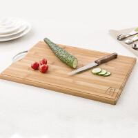 加厚环保整竹菜板大号砧板厨房竹子切菜板家用菜板案板擀面板刀板
