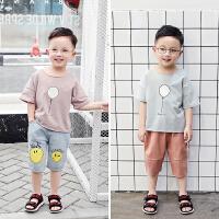 男童短袖t恤新款儿童夏季韩版半袖潮4岁男孩宝宝上衣