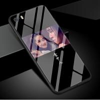 苹果5手机壳大话西游iphone5s玻璃套5se宝5c紫霞仙子男款一万年女款潮牌意中人一生所爱情侣镜