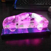 创意DIY个性定制人造水晶车模生日礼物送男友朋友老公浪漫男生 15cm