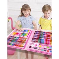 水彩笔套装画笔套盒幼儿园初学者彩色笔手绘72色儿童绘画蜡笔小学生用宝宝彩笔水彩画笔安全无毒可水洗色彩笔