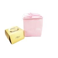 升级 粉色8寸芭比加高覆膜蛋糕袋加厚保温袋冰包31长31宽36高冷藏