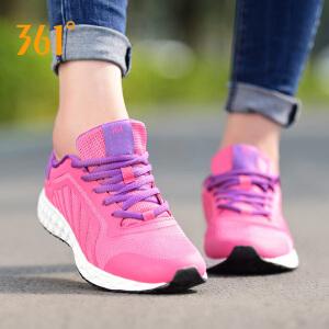 361度女鞋跑步鞋2018秋季新款学生透气时