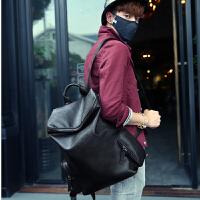 新款男包包简约双肩包男士背包潮流韩版书包旅行包大中学生电脑包