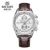 男士手表 新款多功能计时夜光男表手表腕表