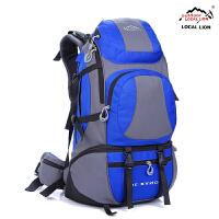 351旅行包防水登山包运动包男女双肩背包户外45L