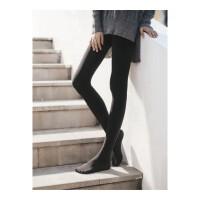春秋季中厚款连裤袜600D哑光天鹅绒平纹保暖内加绒打底裤袜子女 均码