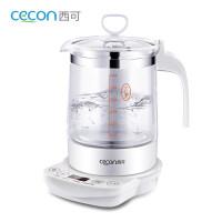 婴儿恒温调奶器玻璃烧水壶宝宝泡奶粉自动冲奶机智能加热保温a459 白色