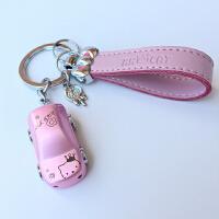 hello kitty猫钥匙扣 可爱汽车挂件女创意凯蒂猫钥匙圈礼物钥匙链