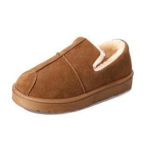 WARORWAR 2019新品YM165-K-1冬季韩版磨砂绒平底鞋舒适女鞋潮流时尚潮鞋百搭潮牌雪地靴