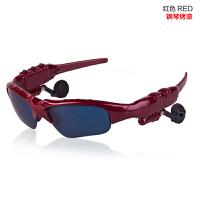 蓝牙眼镜耳机无线智能 偏光太阳镜 听歌打电话立体声运动车载墨镜SN0510 D偏光黑灰色 黄色 白色 茶色 MP3