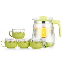 大容量扎壶开水茶壶冷水壶水具果汁壶套装玻璃凉水壶