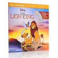 英文原版绘本Disney the Lion King 迪士尼经典动画故事 狮子王Read Along Storybook