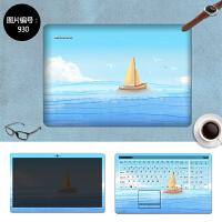 联想Z50 Z40-70 Y580 Y570 Y510P笔记本贴膜电脑外壳贴纸保护贴膜 SC-930 三面+键盘贴