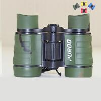 儿童望远镜高清夜视望眼镜双筒女孩男孩玩具3-6岁学生迷彩色 绿迷彩 送指南针