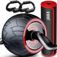 【支持礼品卡】自动回弹健腹轮腹肌速成神器滚轮男女瘦运动卷腹滑轮家用健身器材 kc0
