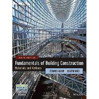 【预订】Fundamentals of Building Construction: Materials and Me