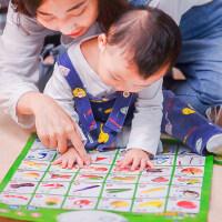 乐乐鱼儿童认知有声挂图拼音 宝宝看图启蒙早教发声识字玩具0-3岁