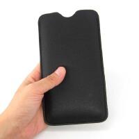 nubiaX努比亚V18/N3/Z17S Z18miniS手机直插保护皮套壳内胆包袋 5.99寸nubia Z18棕色