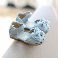 韩版童鞋女童凉鞋公主鞋小儿童鞋2018夏季包头宝宝幼儿皮鞋1-3岁