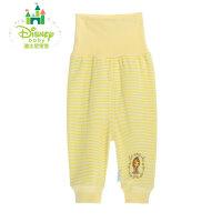 迪士尼Disney 婴幼儿保暖内衣纯棉条纹高腰护肚裤153K663