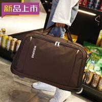2018旅行包女手提拉杆包旅游大容量登机包折叠防水待产包行李包男新款