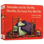 正版英文版 亚历山大和糟糕的一天 英文原版书进口绘本 Alexander and the Terrible, Horr