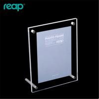 L型桌牌桌签亚克力台签台卡7寸相框菜单牌广告展示牌6303亚克力桌卡