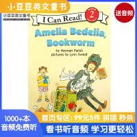 英文原版 Amelia Bedelia, Bookworm [4-8岁]
