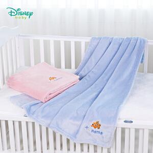 【卷后119元4件】迪士尼Disney童装 儿童被子秋冬新款法然绒男女宝宝毛毯卡通尼莫系列家居小孩被子183P799