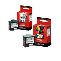 【原装正品】利盟 17 27墨盒 0217墨盒黑色 0227彩色墨盒 适用于利盟 Z13 X75 1140 Z603