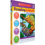 【三年级】学乐英语 阅读与数学 Scholastic Reading And Math Jumbo Workbook