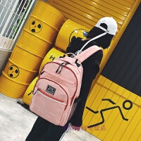 书包女学生韩版大容量旅行双肩包女校园学院风高中生多层防水背包