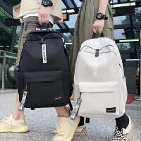 初中生双肩包女韩版电脑男时尚潮流旅行大容量背包小学生高中书包