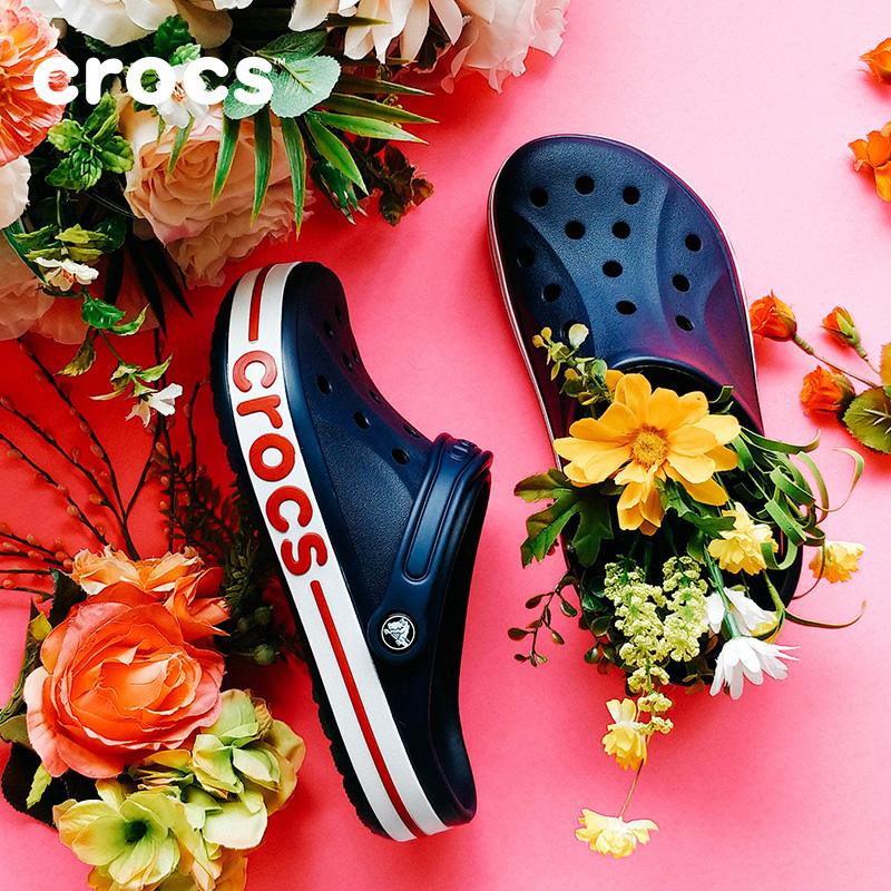 【秒杀价】Crocs洞洞鞋 卡骆驰夏季贝雅卡骆班情侣男女沙滩凉鞋|205089 贝雅卡骆班克骆格 夏季上新大促