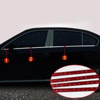专用于大众新速腾车窗饰条POLO16款宝来不锈钢装饰亮条朗逸改装 朗逸/宝来/304材质