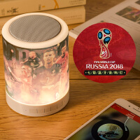 足球球星梅西C罗内马尔周边足球纪念品世界杯音响灯送球迷礼物