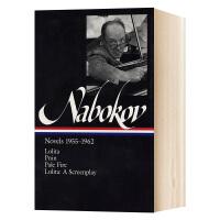 弗拉基米尔纳博科夫小说集 英文原版 Nabokov Novels 1955-1962 英文版短篇小说 洛丽塔同名影视剧